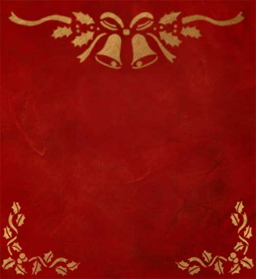 christmas red and gold decorative texture