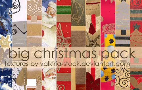 christmas paper textures vintage