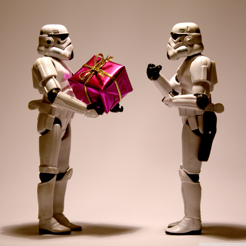 ipad Free Storm Trooper Christmas wallpaper