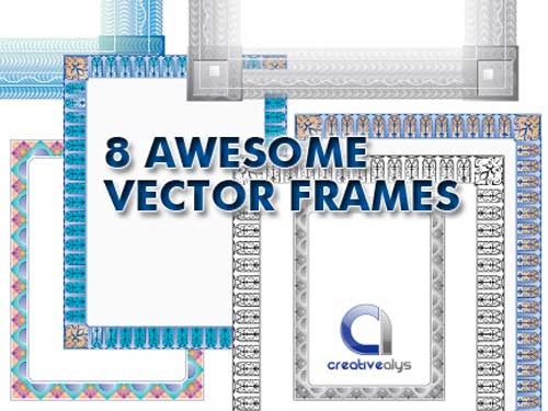 Free Vector Frames
