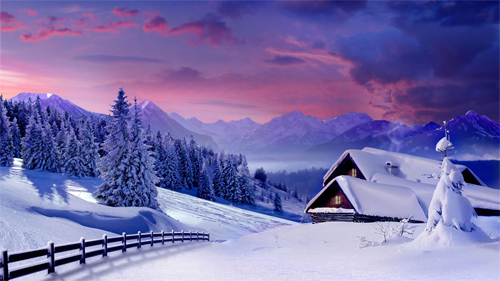 Free Beautiful Winter Wallpaper Desktop Background