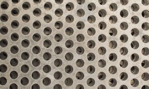Aluminum grid texture