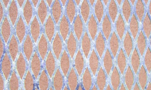 Grid with patina texture
