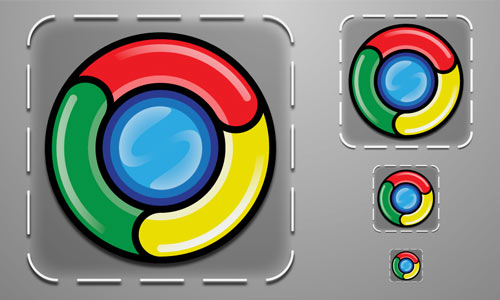 Beautiful Google Chrome Icons