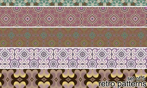 Best Free Photoshop Retro patterns