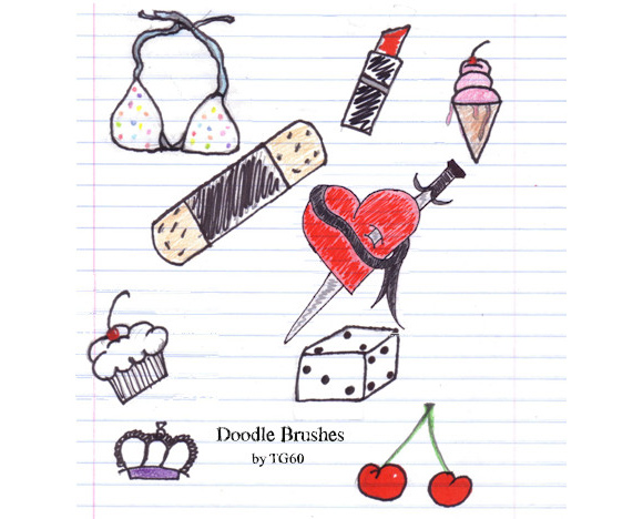 Doodle Brushes by Theos girl