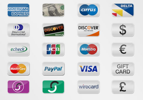 20 Free Payment Option Icons