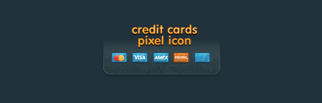 Free Credit Card Payment WebIcons
