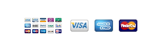 Free Ecommerce Payment Mini Pixel Icons