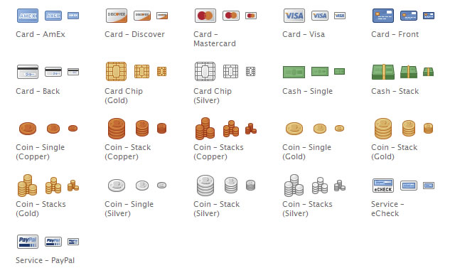 Free Chalkwork Payments Icons