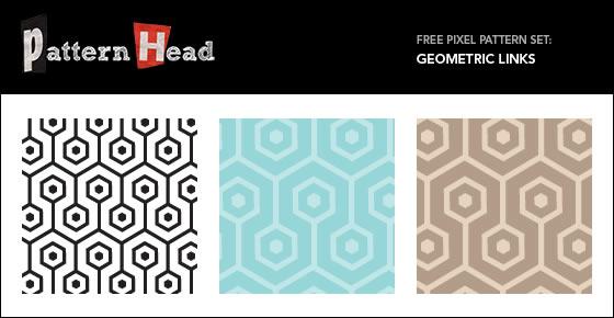 Geometric Links - 3 Patterns