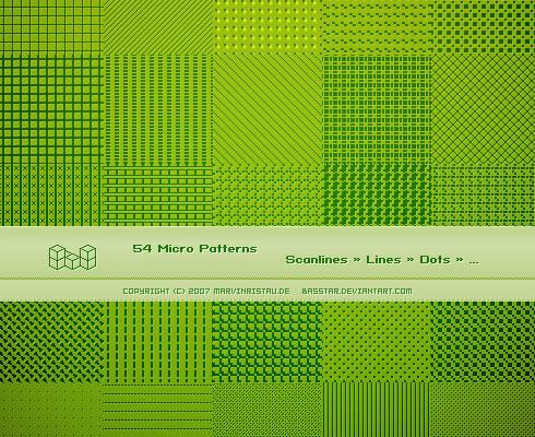 Micro Patterns - 54 Patterns