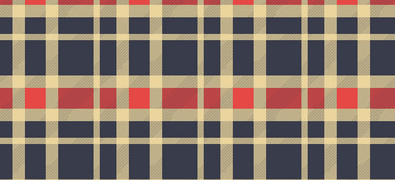 Woven Plaid Swatches- 25 Patterns
