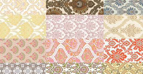 Free Retro Abstract Seamless Photoshop Patterns