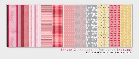Random 2 - 15 Patterns (.psd)
