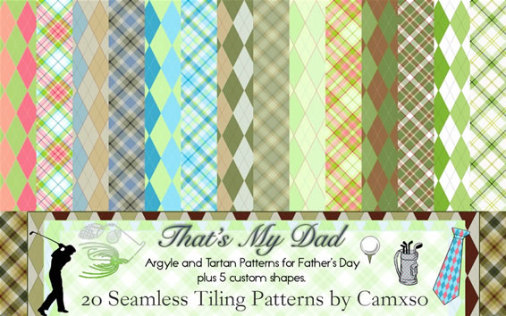 That's My Dad - 20 Patterns
