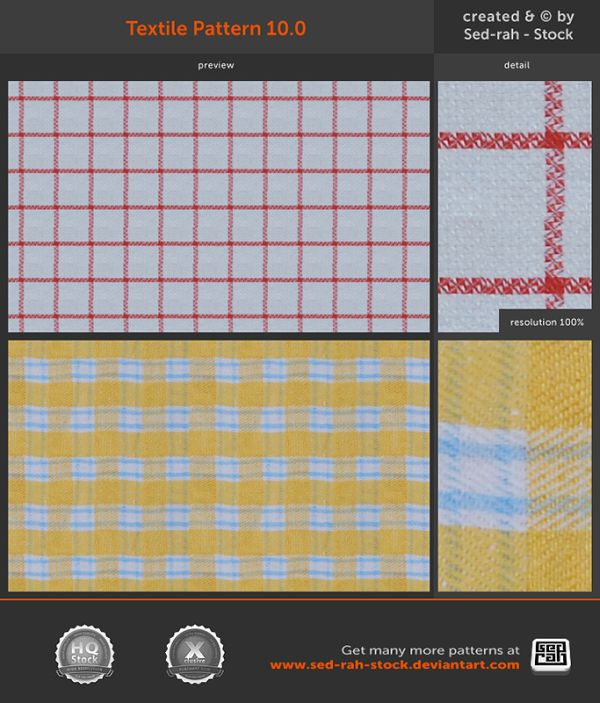 free texile fabric photoshop patterns