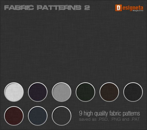 Free Fabric Photoshop Patterns