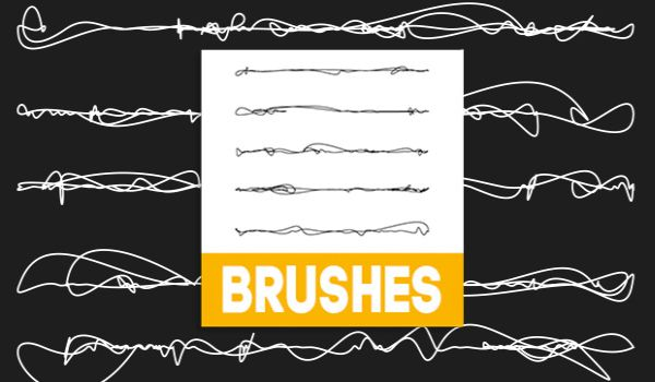 Free Doodles Illustrator Brushes