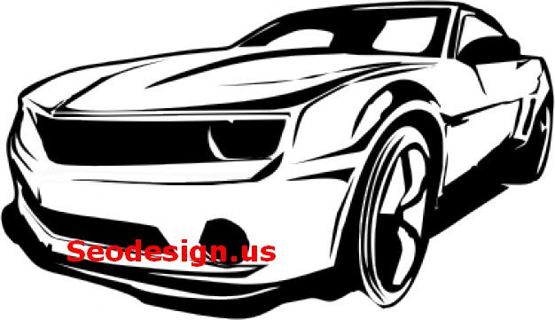 free sport cars vectors graphics