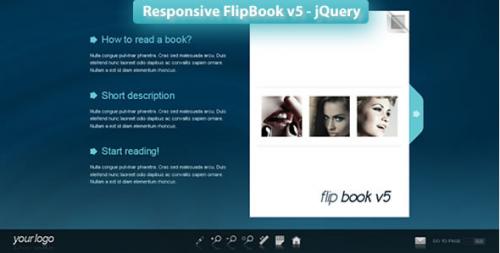 Responsive FlipBook v5 - jQuery