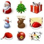 14 Christmas 2013 Icons