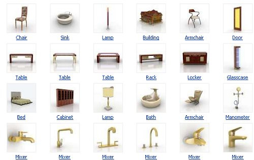 40+ 3D Furniture Models To Download | Free Web Design Resources