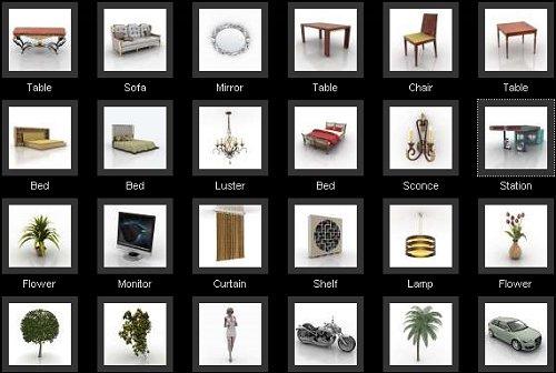 40 3d Furniture Models To Download Free Web Design