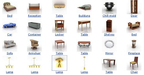 40+ 3D Furniture Models To Download