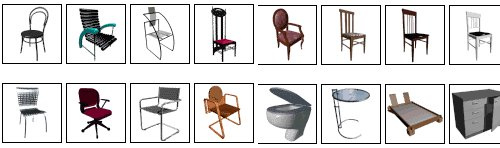 Free 3D Models for interior and furniture Models