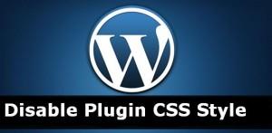 Disable Plugin Stylesheet From Wordpress