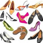 60+ Cute Fashion Shoes Vector Silhouettes