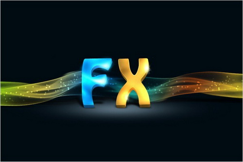 Dazzling 3D Text Effect in Photoshop