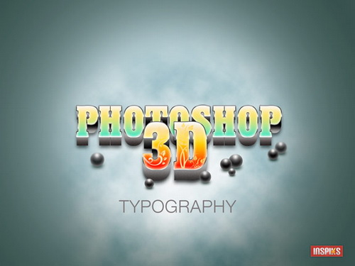 Create A Realistic 3D Typography in Photoshop