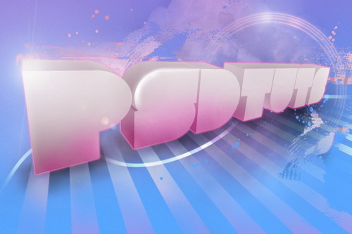 Design Soft Stylized 3D Type in Photoshop