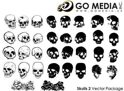 Skull Vector Icons Free Download
