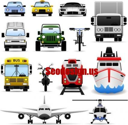 22 Transport Vector Icons Free Download