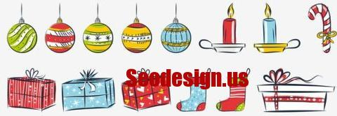 Christmas Gifts Graphics Free Download