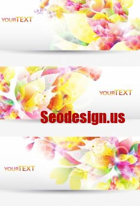 Floral Abstract Backgrounds Free Download