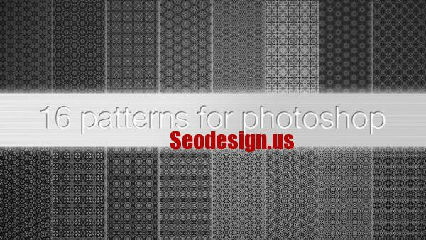 Black White Photoshop Patterns