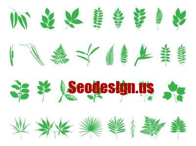 Green Leaves Vector Free Download