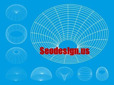 20+ 3D Wireframe Illustrator Free Download