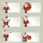 18 Vector Christmas Stickers