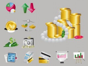 Free Financial Money Vector Icons