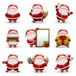 15+ Santa Claus Christmas Silhouettes