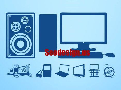 Technology Devices Vector Graphics