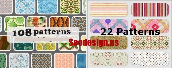 130 Cute Photoshop Patterns