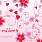 20+ Swirl Heart Brushes
