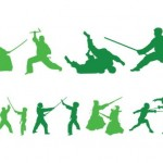 150+ Martial Arts Vector Silhouettes