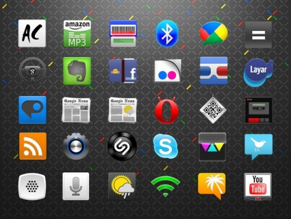 50+ Android Icons Set